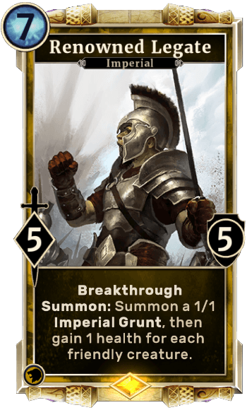 Renownded Legate